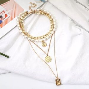 Multiple layers necklace